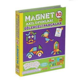 Magnet IQ Eğlenceli Parçalar Mıknatıslı TABA72 Dıytoy