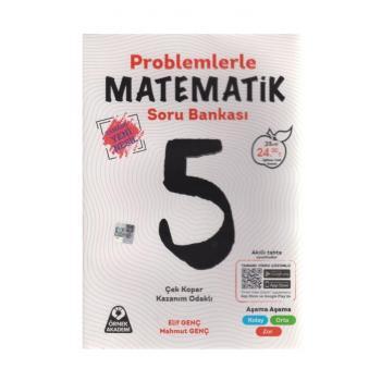5. Sınıf Problemlerle Matematik Soru Bankası Örnek Akademi
