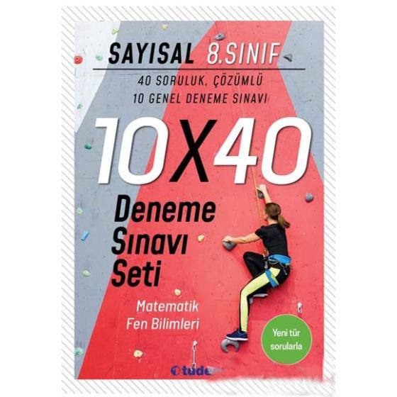 8. Sınıf Sayısal 10x40 Deneme Sınavı Tudem Yayınları