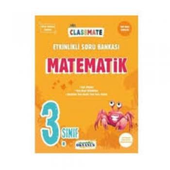 3. Sınıf Classmate Matematik Etkinlikli Soru Bankası Okyanus Yayınları