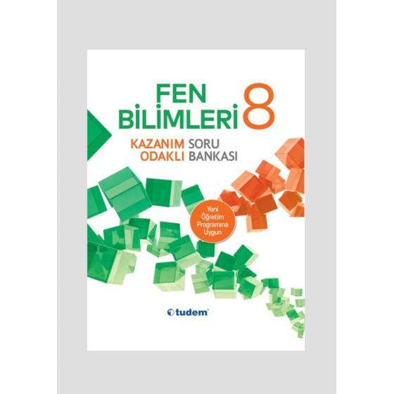 Tudem Yayınları 8.Sınıf Fen Bilimleri Kazanım Odaklı Soru Bankası Tudem Yayınları