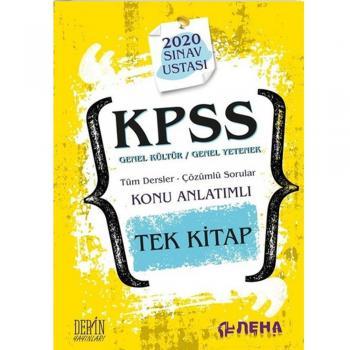 2020 KPSS Tüm Dersler Çözümlü Sorular Konu Anlatımlı Tek Kitap Deha Yayınları