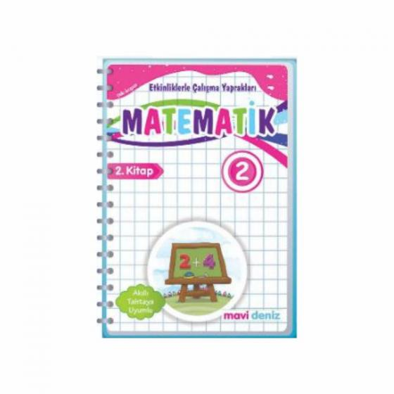 2. Sınıf Matematik Etkinliklerle Çalışma Yaprakları 1. Kitap Mavi Deniz Yayınları