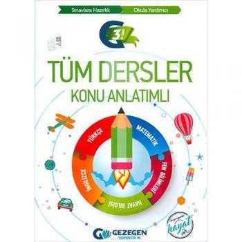3. Sınıf Tüm Dersler Konu Anlatımlı Gezegen Yayıncılık