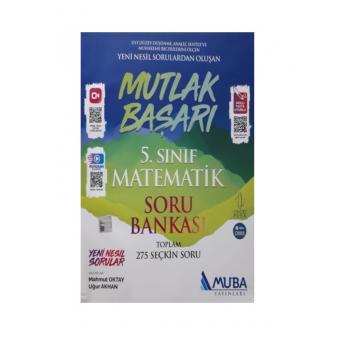 5. Sınıf Mutlak Başarı Matematik Soru Bankası Muba Yayınları