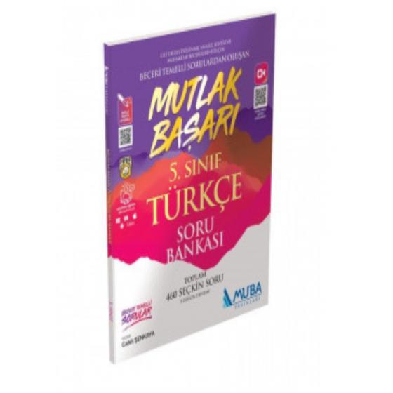 5.Sınıf Mutlak Başarı Türkçe Soru Bankası Muba Yayınları