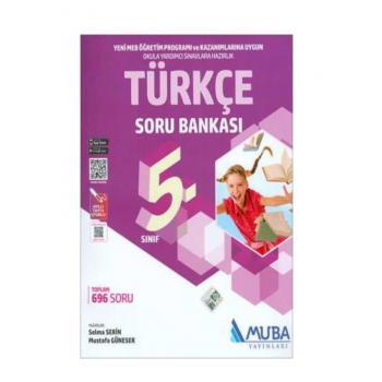 5. Sınıf Türkçe Soru Bankası Muba Yayınları