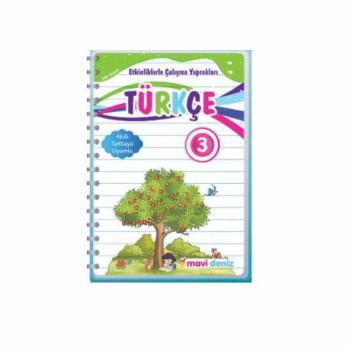 Mavi Deniz 3. Sınıfa Türkçe Etkinliklerle Çalışma Yaprakları