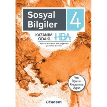 4. Sınıf Sosyal Bilgiler Kazanım Odaklı HBA Tudem Yayınları