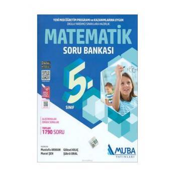 5. Sınıf Matematik Soru Bankası Muba Yayınları