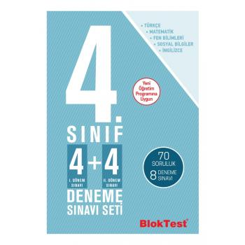 4.Sınıf Bloktest 4+4 Deneme Sınavı Seti