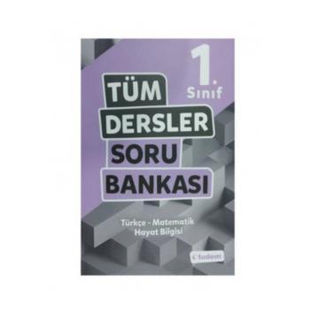 1.Sınıf Tüm Dersler Soru Bankası Tudem Yayınları