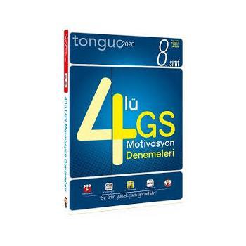 8. Sınıf LGS 4 lü Motivasyon Denemeleri Tonguç Akademi