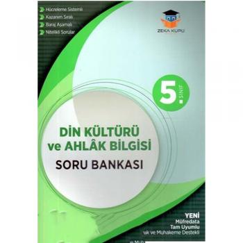 5. Sınıf Din Kültürü ve Ahlak Bilgisi Soru Bankası Zeka Küpü Yayınları