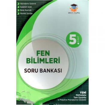 5. Sınıf Fen Bilimleri Soru Bankası Zeka Küpü Yayınları