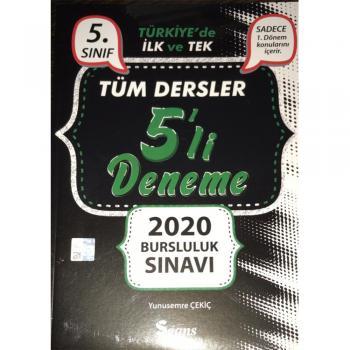 5. SINIF TÜM DERSLER 5'Lİ DENEME 2020 BURSLULUK SINAVI