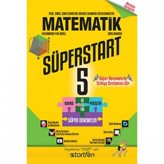 5. Sınıf Matematik Süperstart Soru Bankası Startfen Yayınları