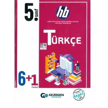 5. Sınıf Türkçe 6+1 HB Gezegen Yayınları