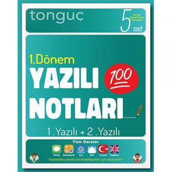5. Sınıf Yazılı Notları 1. Dönem 1 ve 2. Yazılı Tonguç Akademi