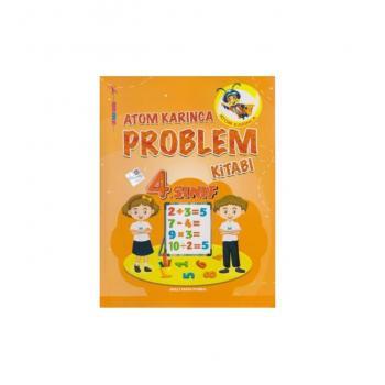 4.Sınıf Problemler Kitabı Atom Karınca Yayınları