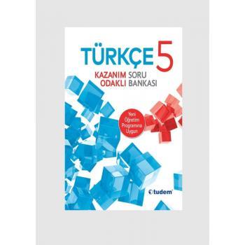 5. Sınıf Tudem Yayınları TÜRKÇE Kazanım Odaklı Soru Bankası
