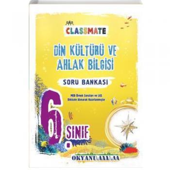 6. Sınıf Classmate Din Kültür Ve Ahlak Bilgisi Soru Bankası Okyanus Yayınları