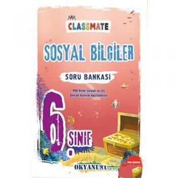 6. Sınıf Classmate Sosyal Bilgiler Soru Bankası Okyanus Yayınları