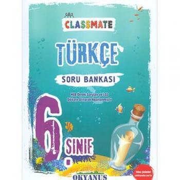 6. Sınıf Classmate Türkçe Soru Bankası Okyanus Yayınları