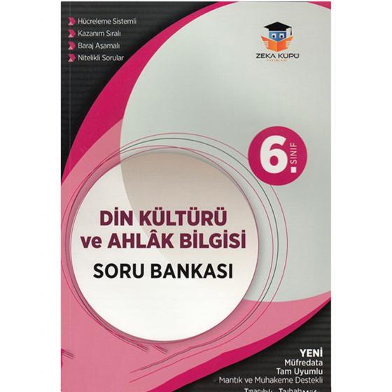 6. Sınıf Din Kültürü ve Ahlak Bilgisi Soru Bankası Zeka Küpü Yayınları