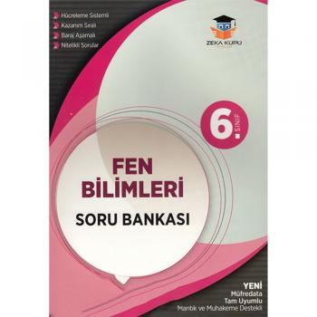 6. Sınıf Fen Bilimleri Soru Bankası Zeka Küpü Yayınları