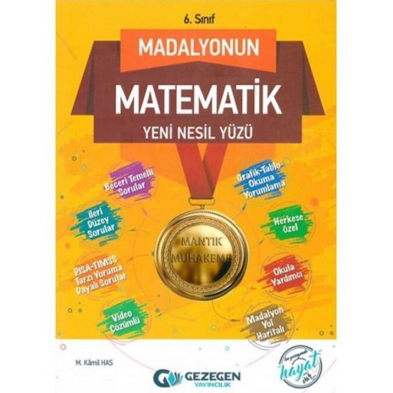 6. Sınıf Madalyonun Matematik Yüzü Gezegen Yayınları