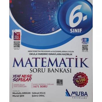 6. Sınıf Matematik Soru Bankası Muba Yayınları
