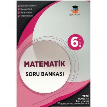 6. Sınıf Matematik Soru Bankası Zeka Küpü Yayınları