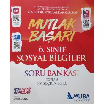 6.Sınıf Mutlak Başarı Sosyal Bilgiler Soru Bankası Muba Yayınları