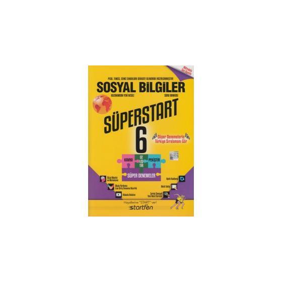 6. Sınıf Sosyal Bilgiler Süperstart Soru Bankası Startfen Yayınları