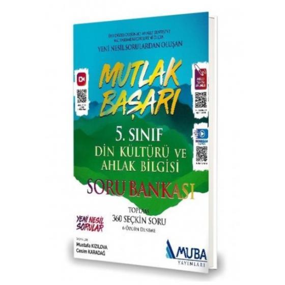 5. Sınıf Mutlak Başarı Din Kültürü ve Ahlak Bilgisi Soru Bankası Muba Yayınları