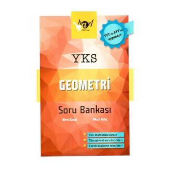 YKS TYT AYT Geometri Soru Bankası Harf Yayınları