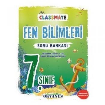 7. Sınıf Classmate Fen Bilimleri Soru Bankası Okyanus Yayınları
