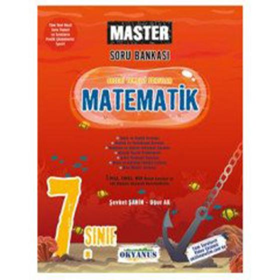 7. Sınıf Matematik Master Soru Bankası Okyanus Yayınları