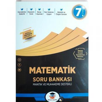 7. Sınıf Matematik Soru Bankası Zeka Küpü Yayınları
