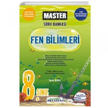 8. Sınıf Fen Bilimleri Master Soru Bankası Okyanus Yayınları