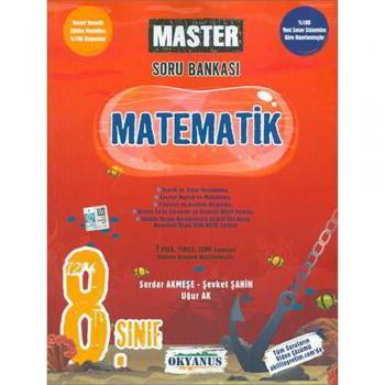8.Sınıf LGS MASTER Matematik Soru Bankası Okyanus Yayınları