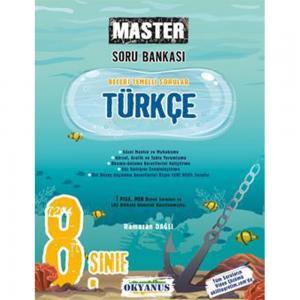 8.Sınıf Master Türkçe Soru Bankası Okyanus Yayınları
