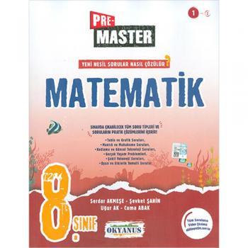 8. Sınıf Pre Master Matematik Soru Bankası Okyanus Yayınları