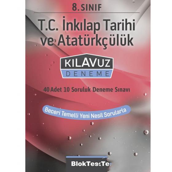 8. Sınıf T.C. İnkılap Tarihi ve Atatürkçülük Kılavuz Deneme Blok Test Yayınları