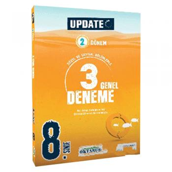 8.Sınıf UPDATE 2.Dönem 3 Genel Deneme Okyanus Yayınları