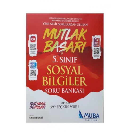 5.Sınıf Mutlak Başarı Sosyal Bilgiler Soru Bankası Muba Yayınları