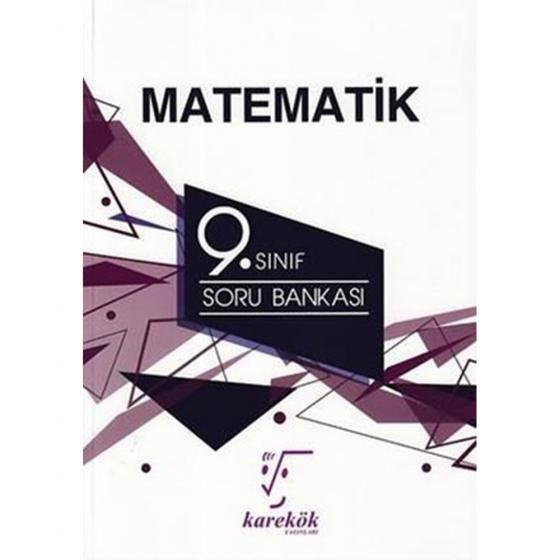 9. Sınıf Matematik Soru Bankası Karekök Yayınları