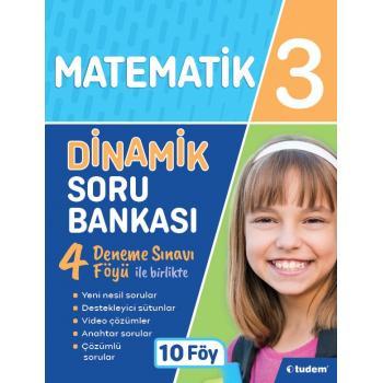 3. Sınıf Matematik Dinamik Soru Bankası Tudem Yayınları