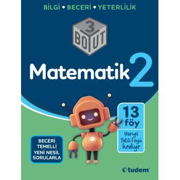 2. Sınıf Matematik 3 Boyut Soru Bankası Tudem Yayınları